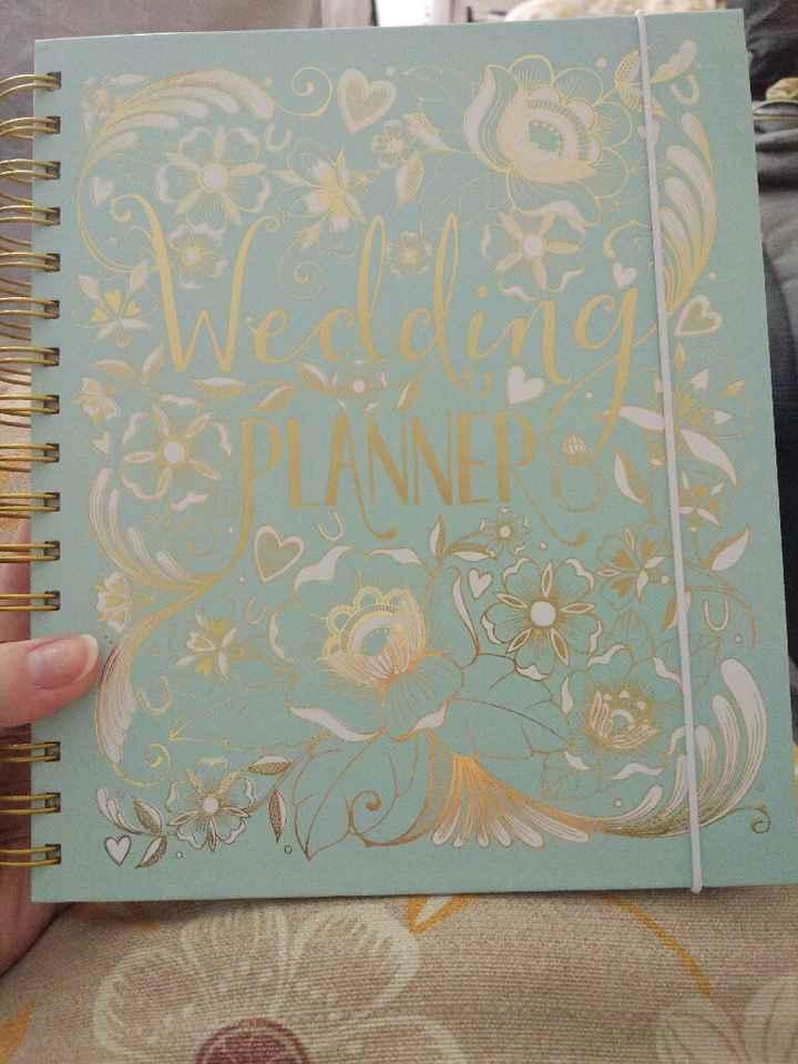 Agenda de boda - 1