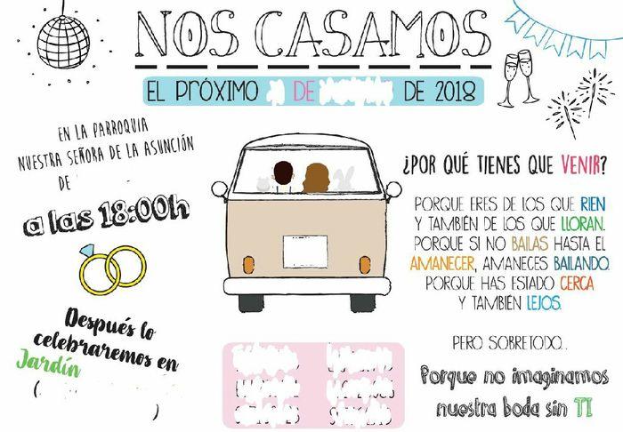 Nuestras invitaciones!!!!! - 2
