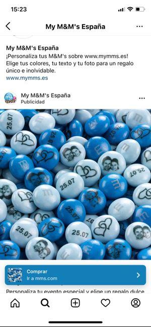 M&M's personalizados 1