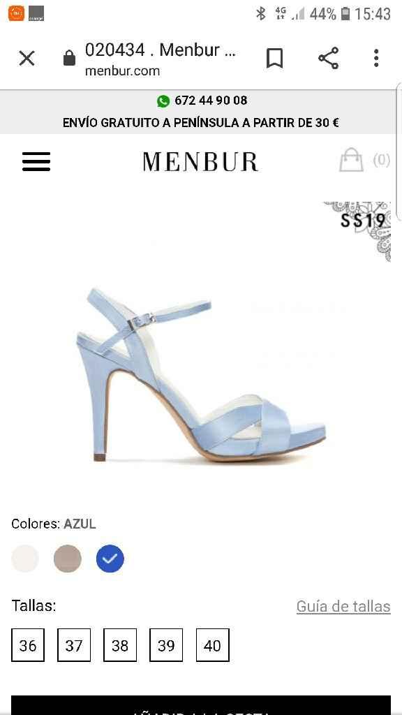 Color zapatos - 1