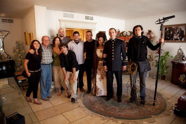 Todo el equipo de Nova en casa de David