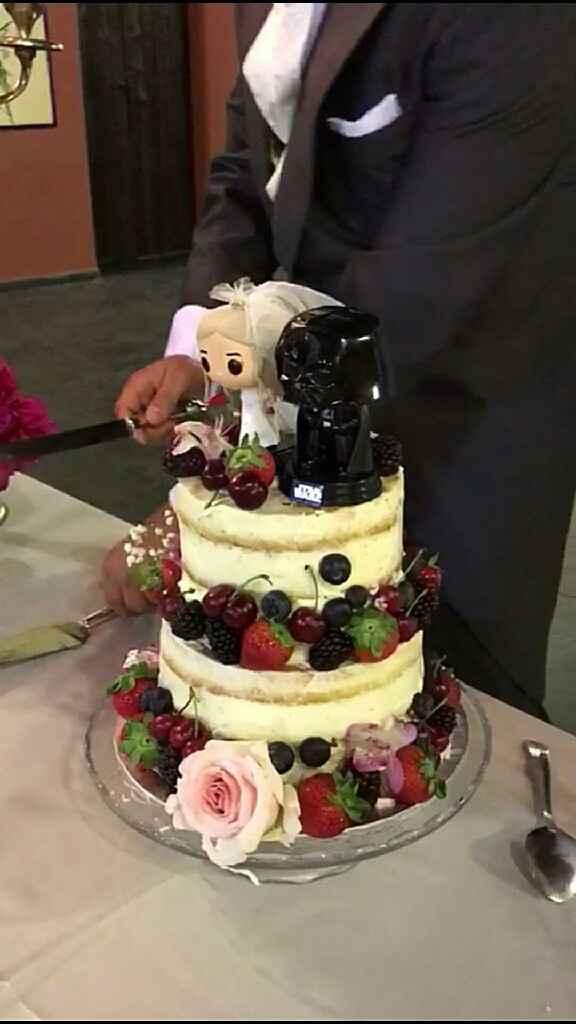 Tarta naked cake - 1