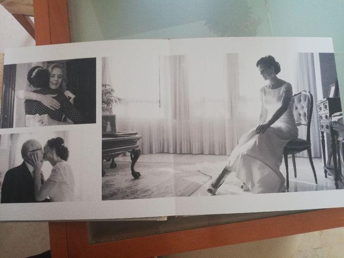 ¡Ya tengo el álbum de fotos de la boda! 2