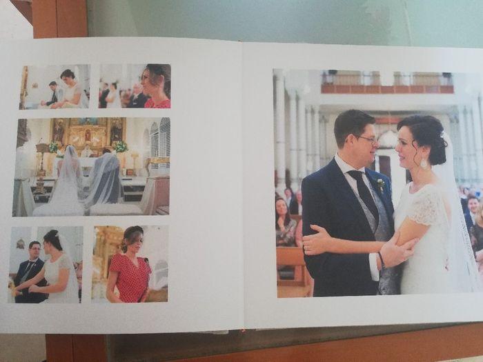 ¡Ya tengo el álbum de fotos de la boda! 3