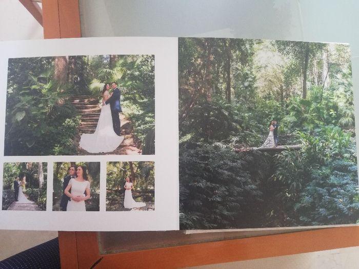 ¡Ya tengo el álbum de fotos de la boda! 5