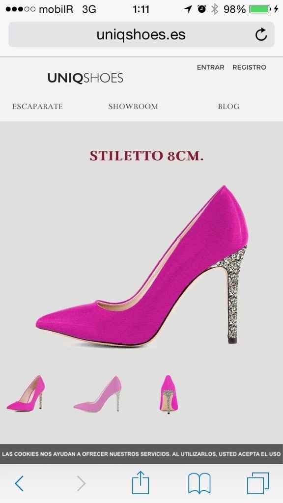 Zapatos de color para novias - 1