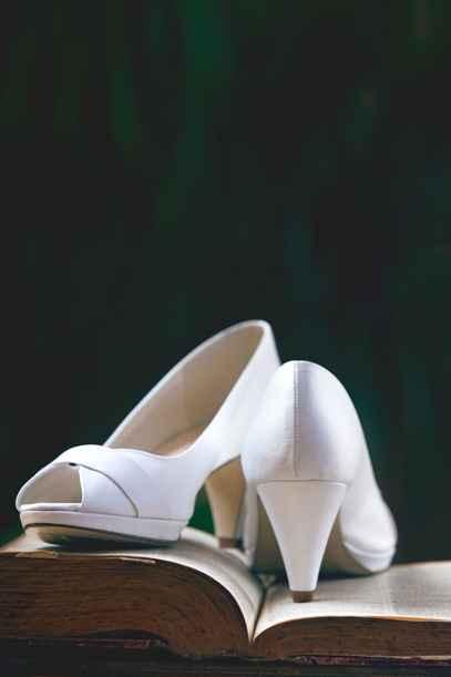 Zapatos de novia con tacón medio - 1