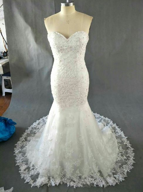 vestido de novia aliexpress - moda nupcial - foro bodas