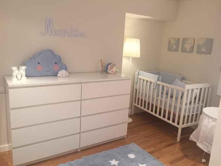 Ideas para decorar el dormitorio de nuestro bebe - 1