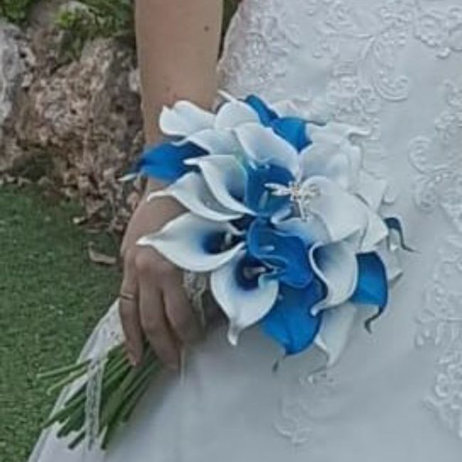 Ramo de novia azul? 8