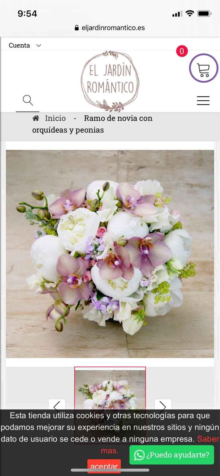 Orquídeas o peonías en el ramo?? - 1