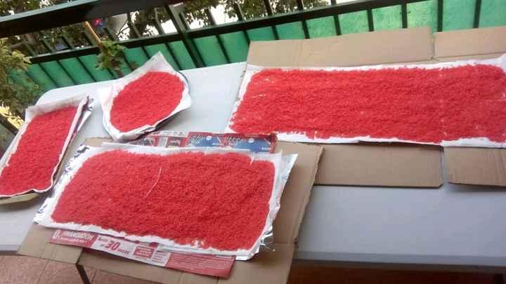 Teñir arroz con papel pinocho! - 3