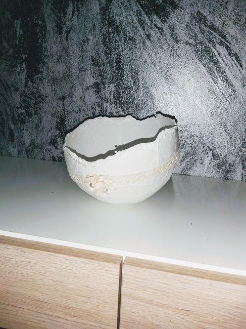Centro-nido de yeso - 2