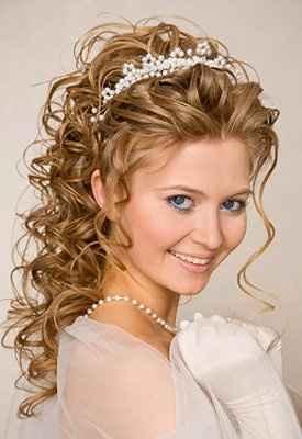 Elegir peinado para una Curly - 1