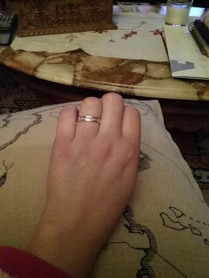 mi anillo de compromiso