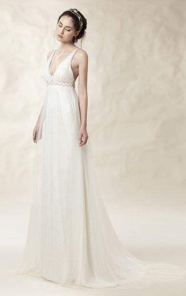 donde comprar vestidos de novia para boda en la playa? - barcelona