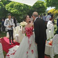 El dilema de Miriam ¿ vestido de novia o de fiesta? - 1