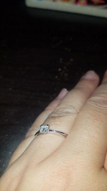 Pongamos foto de nuestros anillos de compromiso 1