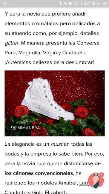 Colección Converse de novia 1