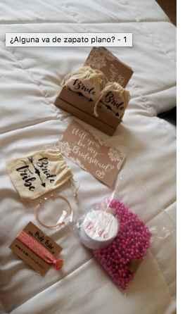 Cajas/bolsas de regalos para las damas de honor - 3