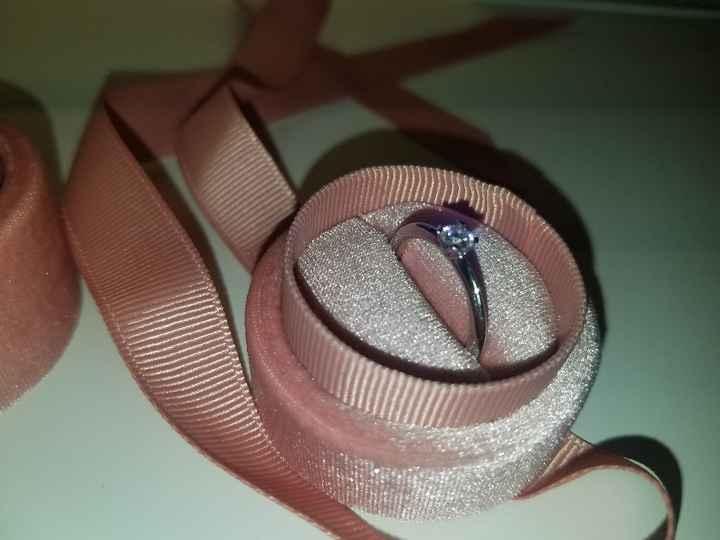 Cajita para el anillo de compromiso - 1