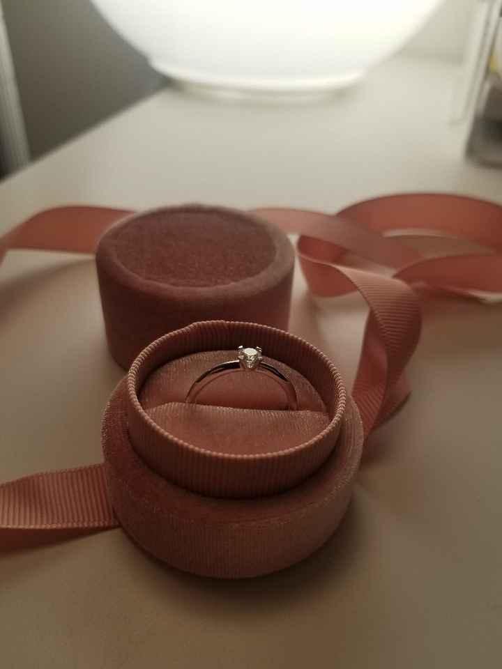 Cajita para el anillo de compromiso - 2