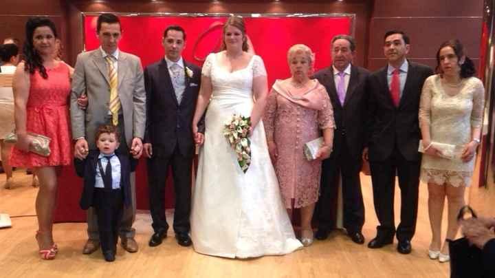 Novios que nos casamos el 25 de Abril de 2015 en Madrid - 3