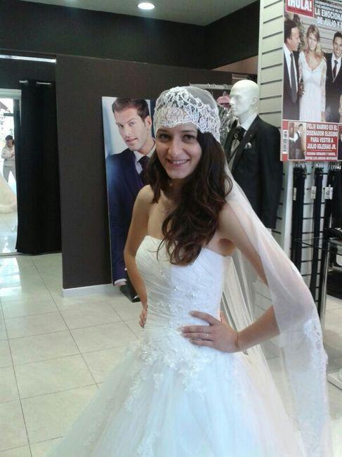 mi primera prueba de vestido!! - moda nupcial - foro bodas
