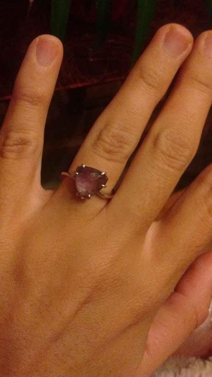 Mi anillo de prometida