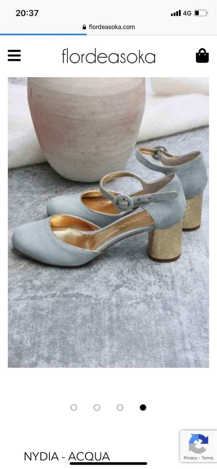 Zapatos flor de asoka - 1