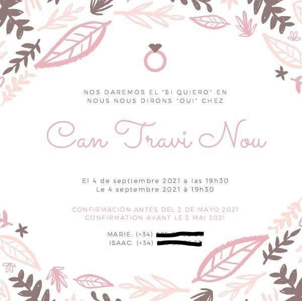 invitaciones de boda - 2