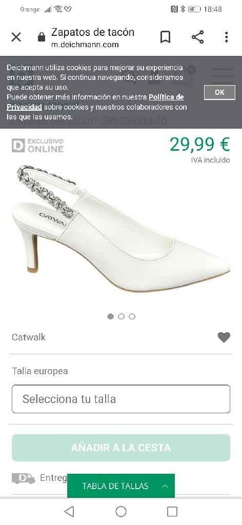 Ganga de zapatos - 1