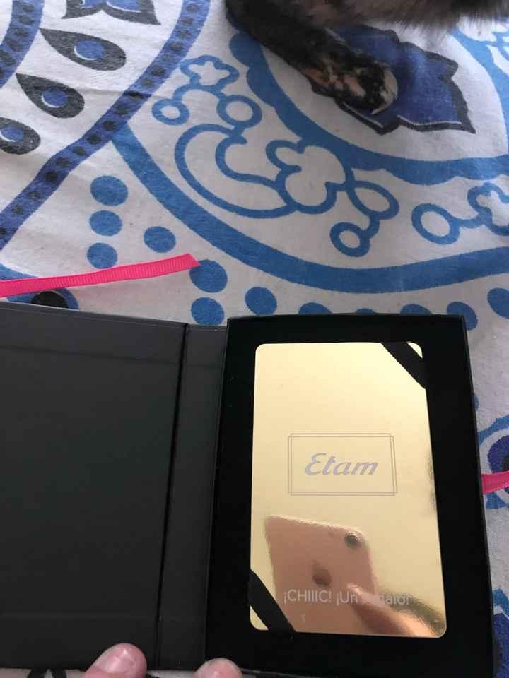 Ya tengo mi tarjeta regalo de etam ❤️ - 2