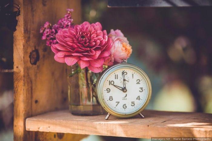 Dime la hora de tu boda y te diré... 1