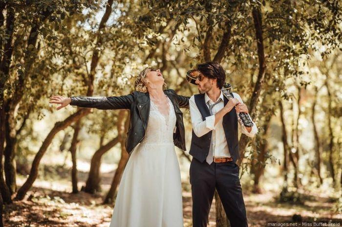 2 bodas, 2 estilos. ¿Cuál prefieres? 1