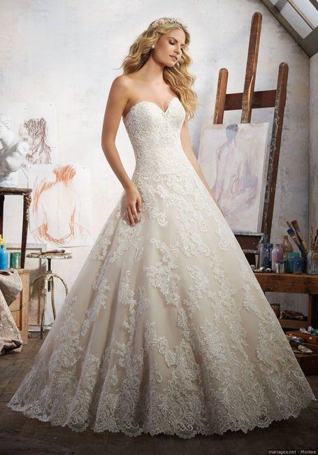 2 bodas, 2 vestidos. ¿Cuál prefieres? 1
