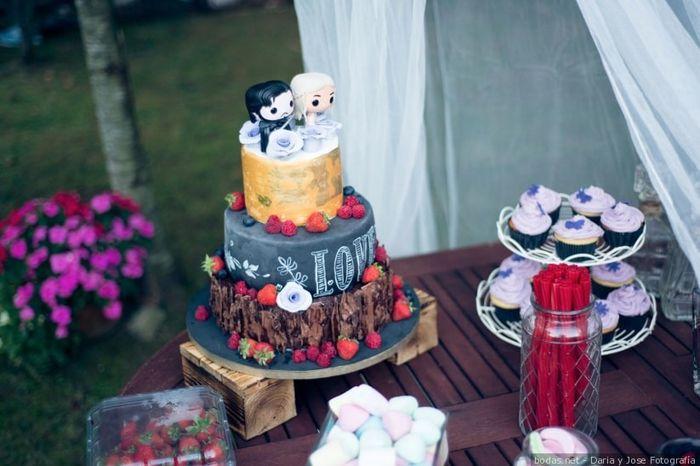Con este cake topper... ¡YO NO ME CASO! 🎂 1