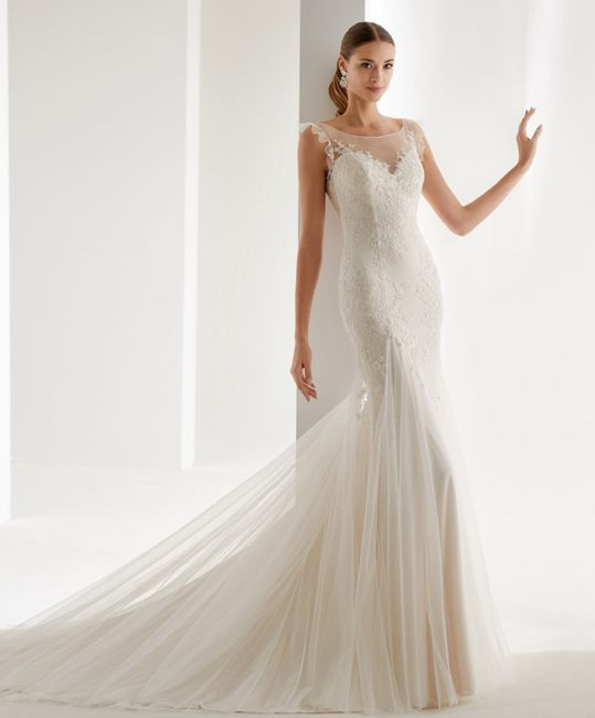 El vestido: ¿sirena, princesa o evasé? 👗 1