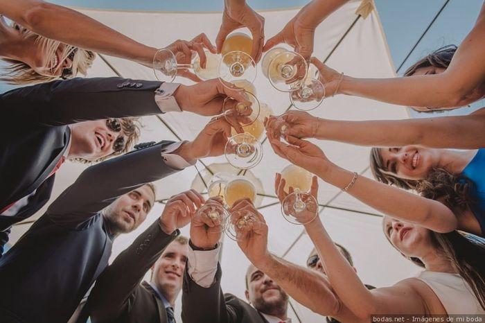Me emborracharé en mi boda: ¿verdad o mentira? 🥂 1