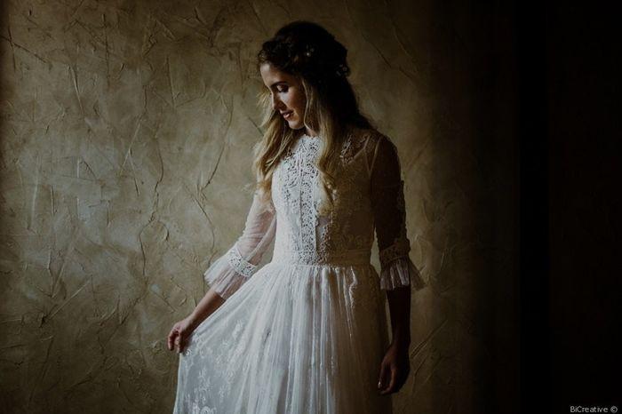 ¿Encontraste tu vestido a la primera? 😮 1