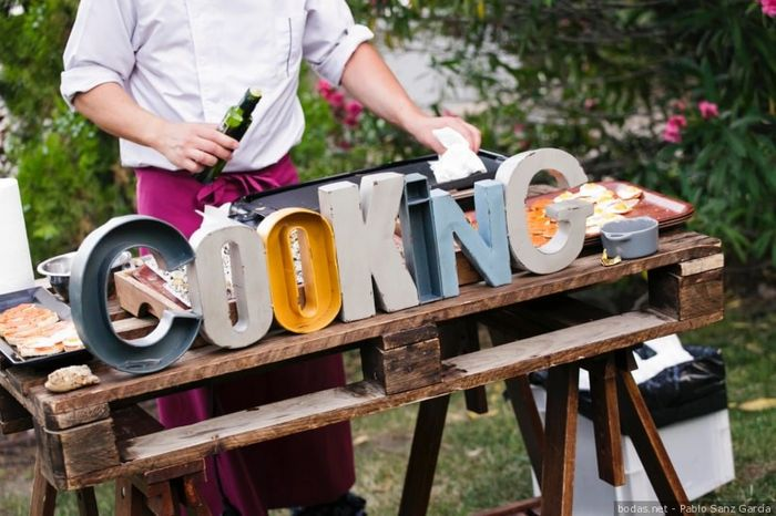¿Cuántos platos tendrá tu menú de boda? 1