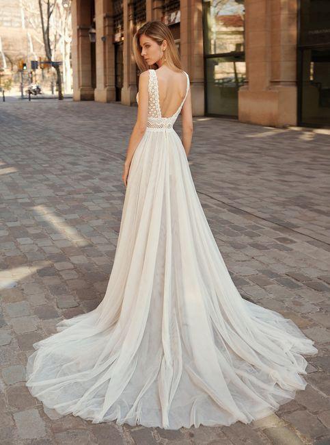 ¿Con cuánta antelación mirarás el vestido? 1