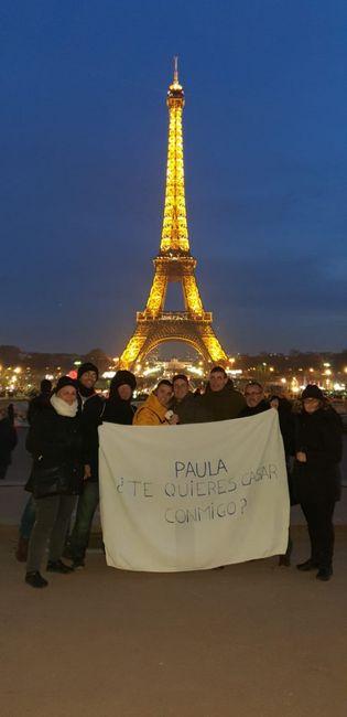 ¡Puntúa la pedida de Paula y Rubén! 💍 1