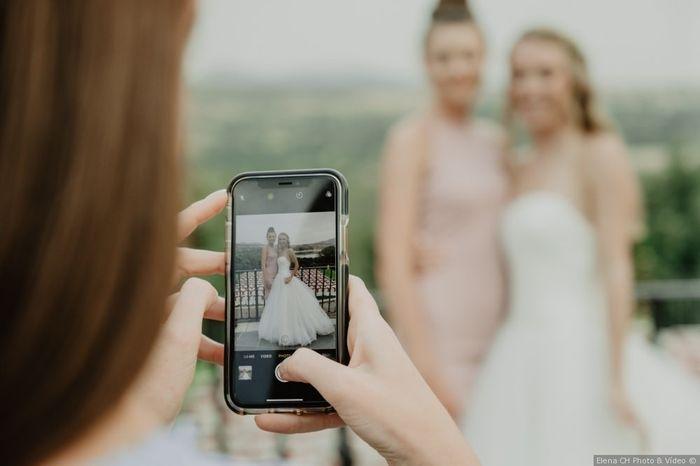 ¿Crees que se compartirán fotos de la boda en las redes sociales? 1