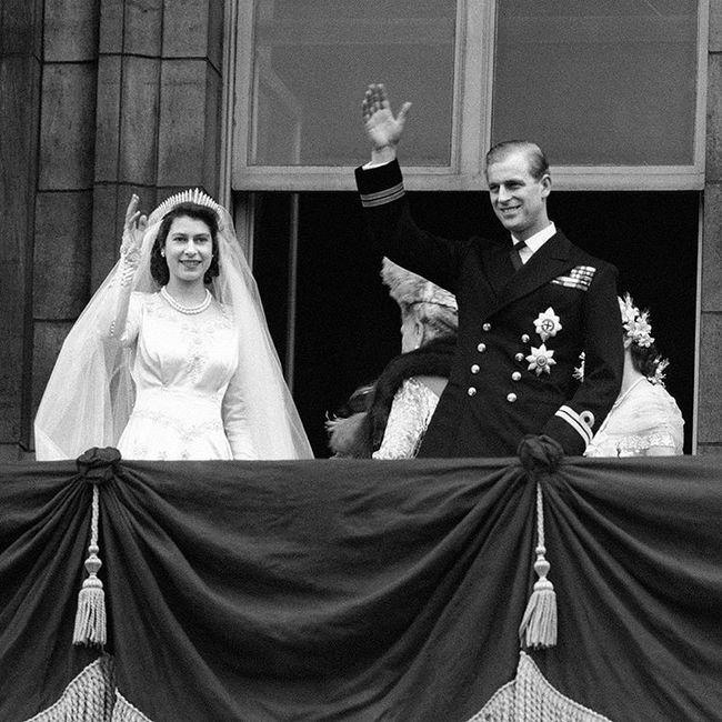 ¡La reina Isabell II y Felipe de Edimburgo celebran aniversario número 72! ❤️ 3