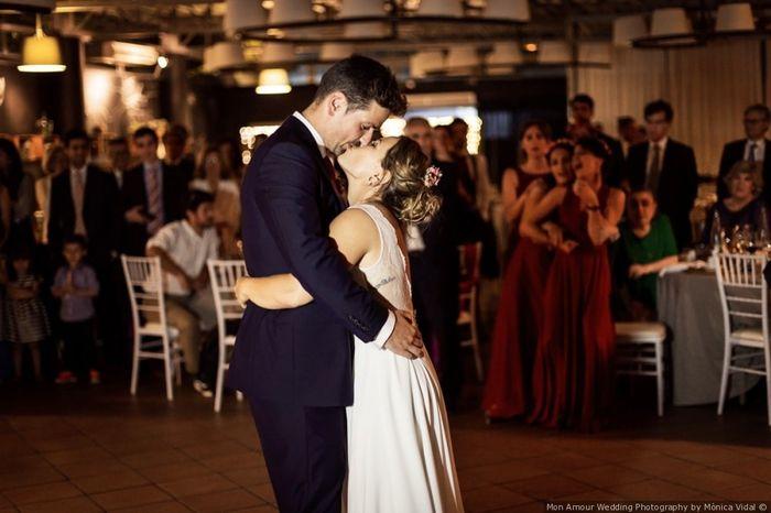 ¿Cómo será su primer baile de esposos? 1