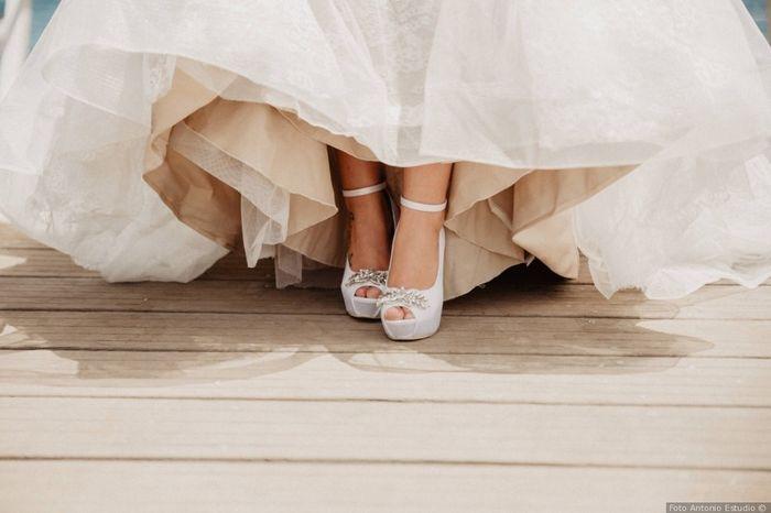 ¿Cuántas veces cambiarás de calzado el día B? 1