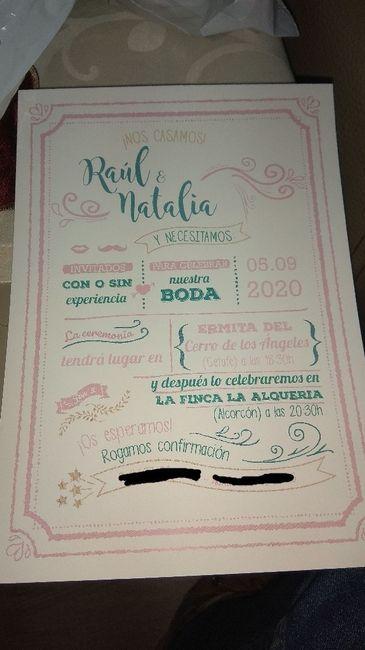 Invitaciones! 1