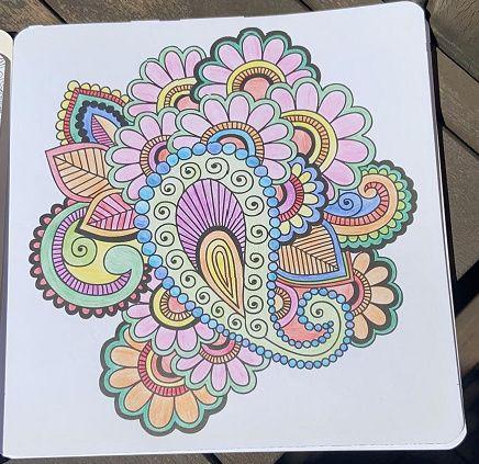 La cuarentena de Laura: ¡Relájate pintando mandalas! 🎨 1