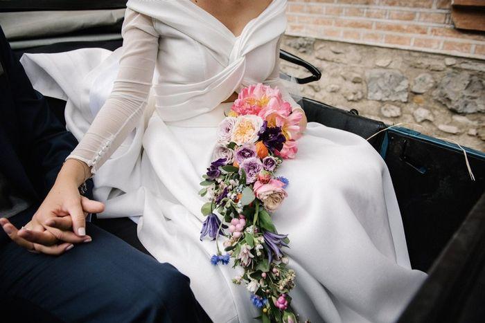 ¿Regalarás una réplica de tu ramo de novia? 💐 1
